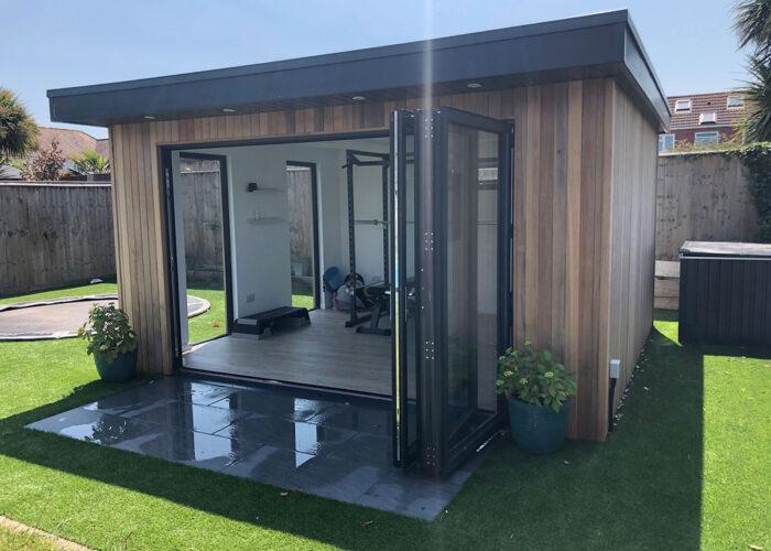 Traditionally built Garden Room