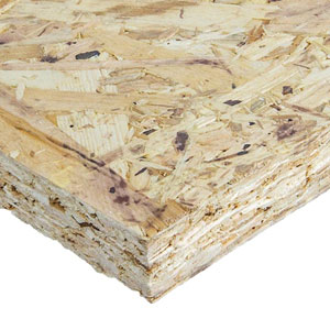 Our SIPs use 15mm Sterling Board OSB3 skins as standard